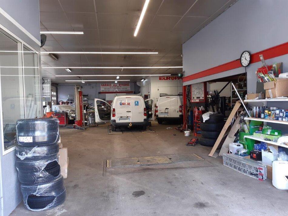 Garage des Rivières Logo
