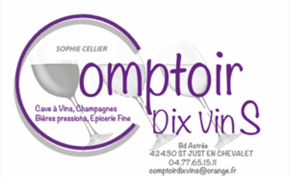 Comptoir dix vinS Logo
