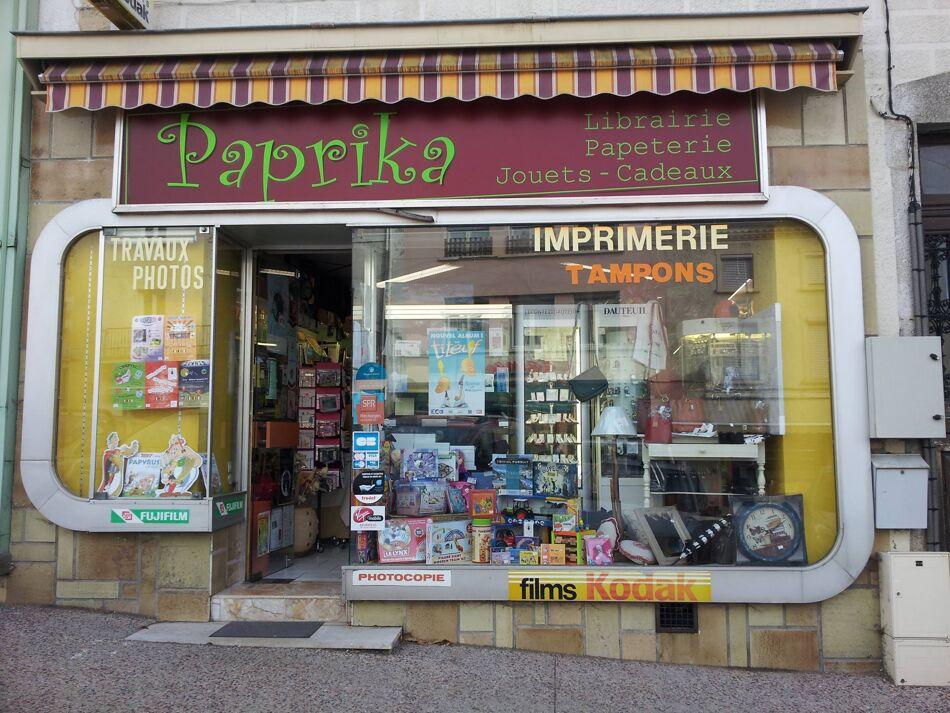 Libraire papeterie Paprika Logo