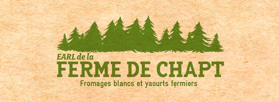 La ferme de Chapt Logo